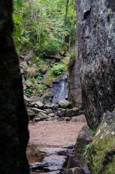 A hidden glen in the Cairngorms national park