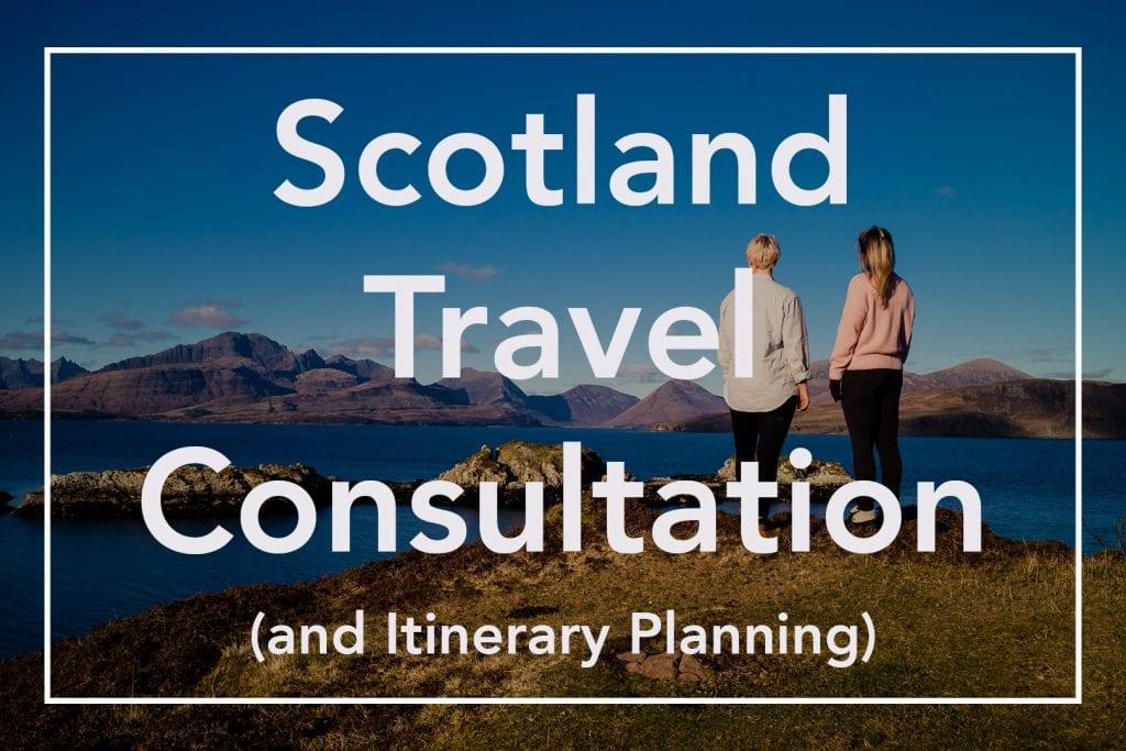 Watch Me See Scotland Travel Consultation Trip Planning Itinerary Planning Reiseplanung Routenplanung Schottland