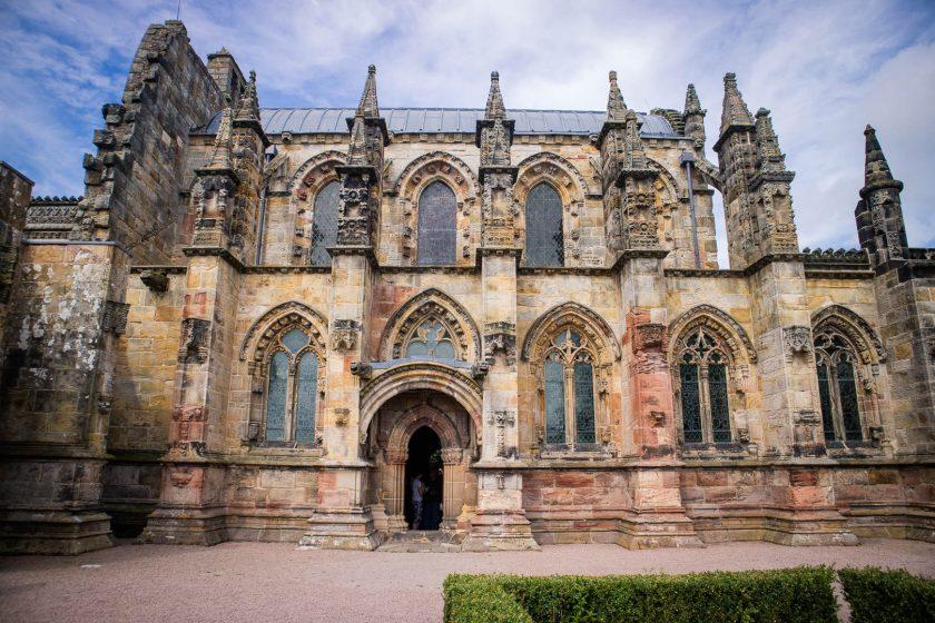 Rosslyn Chapel in the Scottish Borders