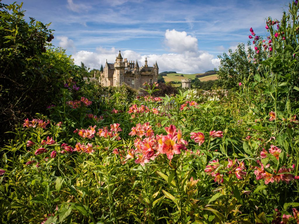 Abbotsford House The Home of Sir Walter Scott in the Scottish Borders