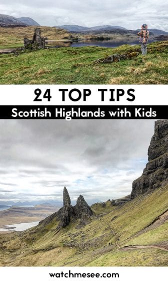 If you're an outdoor family looking for adventure, Scotland is the perfect destination. Here are 24 tips for visiting the Scottish Highlands with kids!