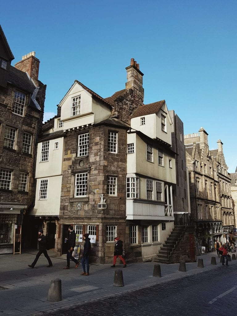 The Scottish Storytelling Centre on the Royal Mile in Edinburgh.