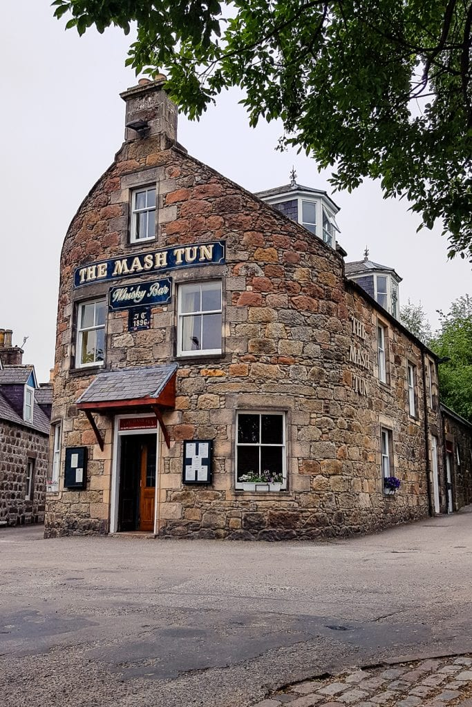 The Mashtun Pub in Aberlour.