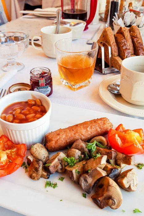 Vegan Scottish breakfast