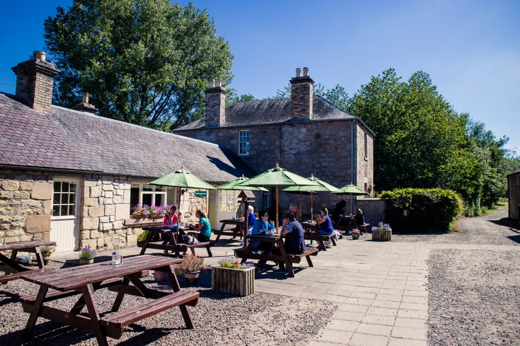 The tea room at Hirsel Estate in Coldstream.