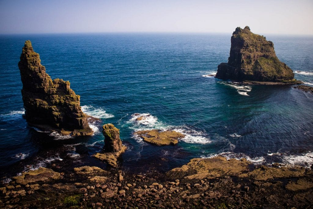 North Coast 500: Duncansby Sea Stacks.