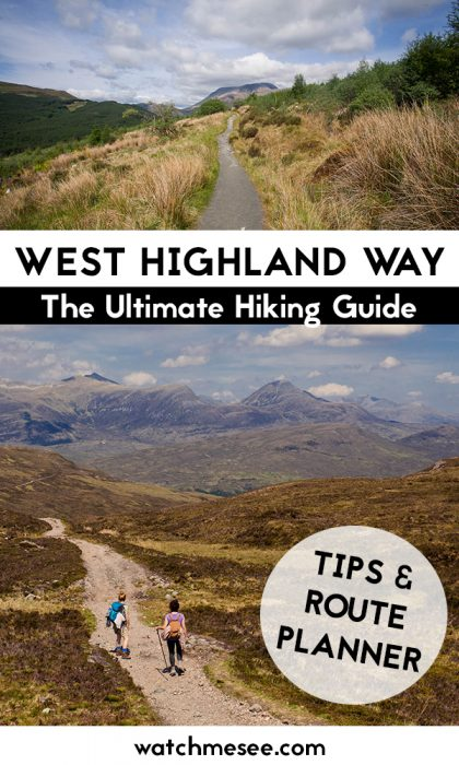 This kickass guide to walking the West Highland Way contains everything you need along the hike from suggested routes to the best places to stay!