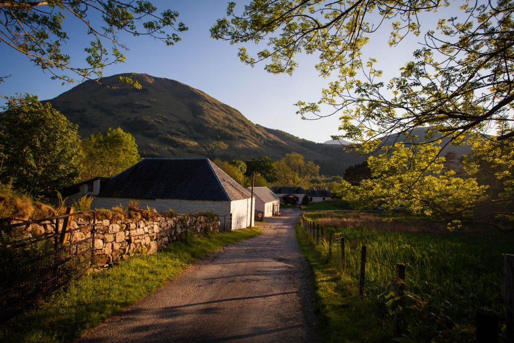 Glencoe Independent Hostel in Scotland.