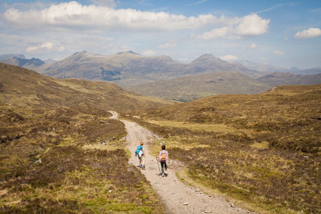 West Highland Way hike from Glencoe to Kinlochleven.