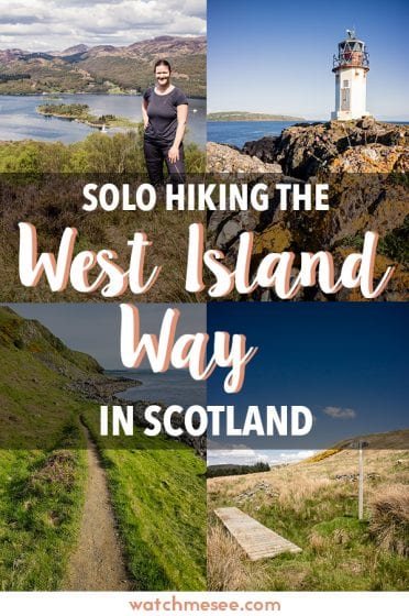 Want to go solo hiking in Scotland, but don't know where? Try the West Island Way on the Isle of Bute - a 30-mile trek with island hopping in Scotland!