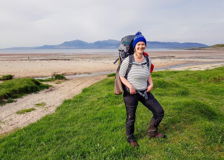 Solo hiking in Scotland.