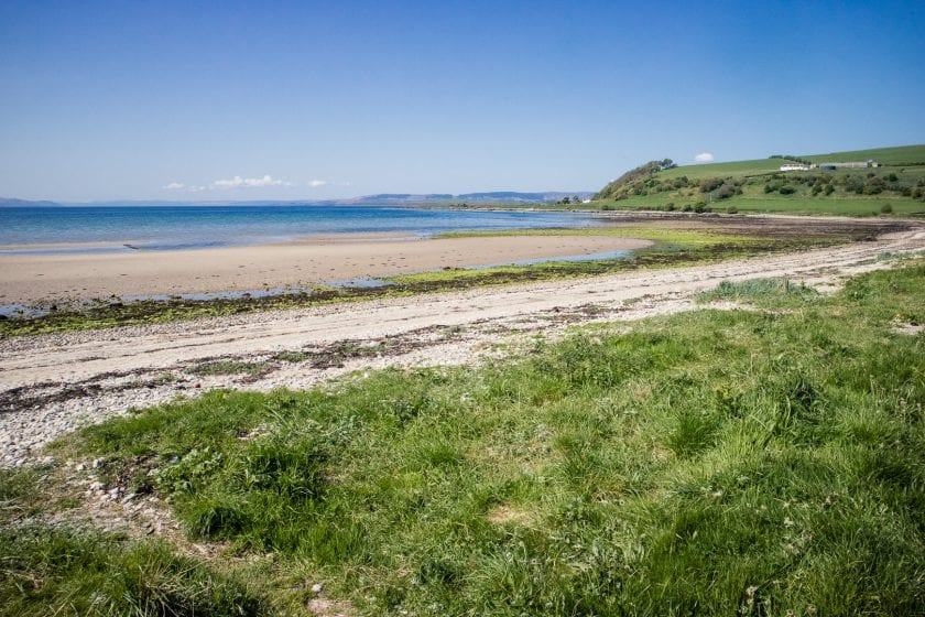Ettrick Bay on the Isle of Bute.