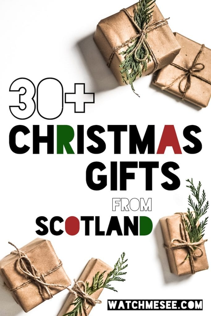 Are you looking for Christmas gifts from Scotland that will make every Scotland fan's heart beat faster? This is the only Christmas gift guide you'll need!