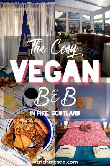 There are more and more vegan-friendly B&Bs opening up all over Scotland! This is a review of my experience at The Cosy Vegan B&B in Fife, near Edinburgh and Dunfermline.