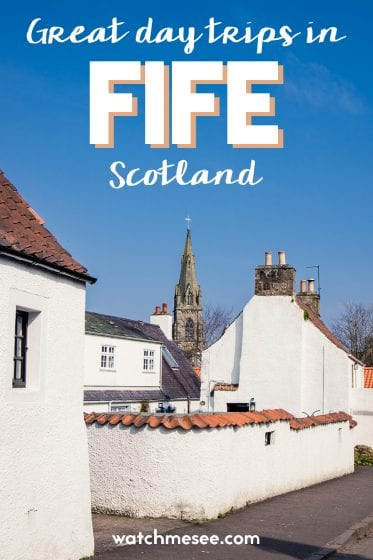 Great ideas for day trips around Fife in Scotland.