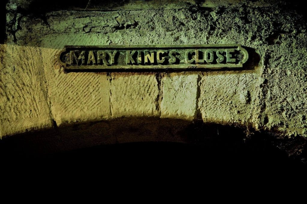 The Real Mary King's Close Edinburgh tour