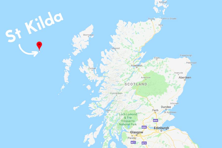 St Kilda Map