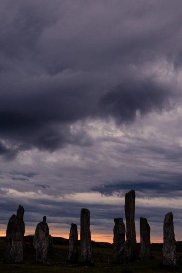 standing stones in scotland